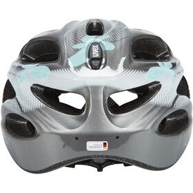 UVEX onyx Casco Mujer, dark silver-light blue